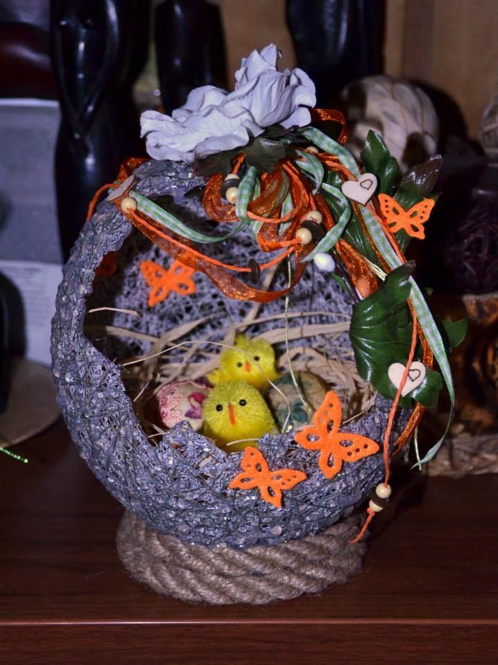 wełniane stroiki Christmas bulbs, Christmas ornaments