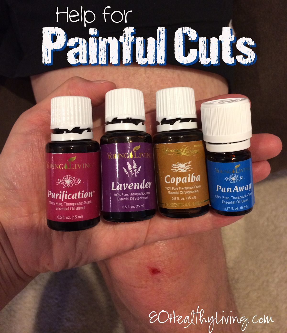 Help For Painful Cuts With Lavender Purification Copaiba And