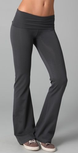 So Low Workout Fold Over Pants - StyleSays
