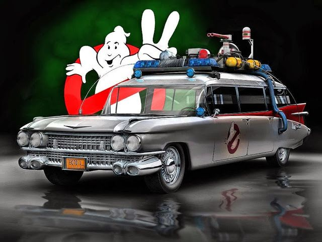 Ecto 1 Ghostbusters Cars Movie Ghostbusters Ghostbusters Theme