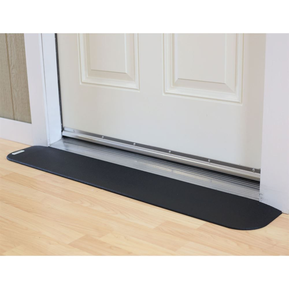 Raez Ramps Safepath Ez Edge Transition Rubber Threshold Ramp Ada Compliant Threshold Ramp Transition Flooring Wheelchair Ramp