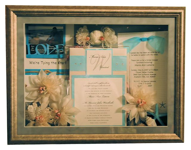 after the wedding, Custom Display disigns