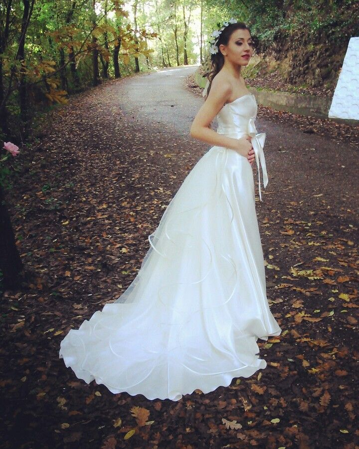 Wedding dress fairy inspiration by Alessio Cristalli