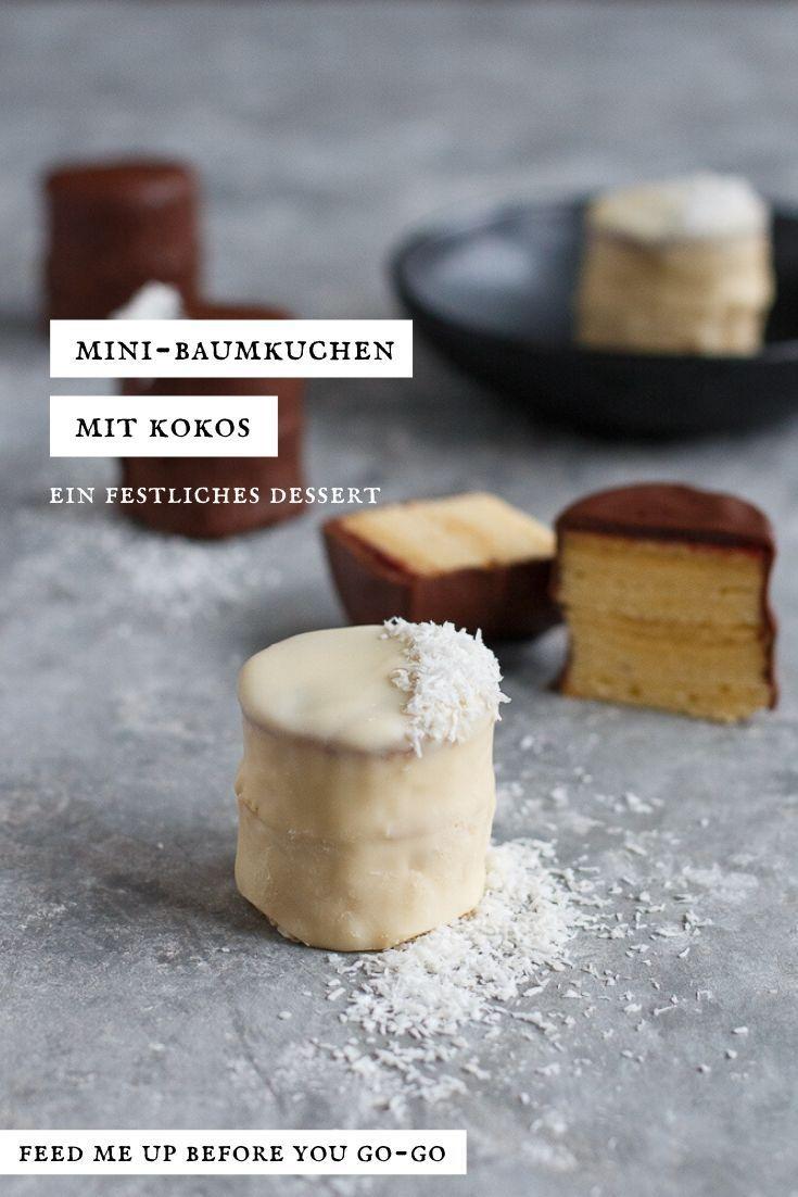Ein Dessert-Allroundtalent: Mini-Baumkuchen mit Kokos