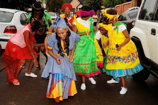 Tswana Traditional Wedding Dresses For 2014