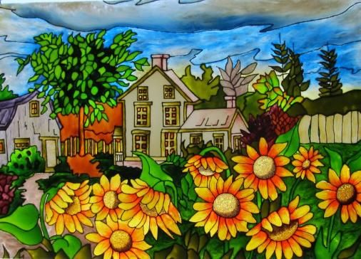 peinture acrylique sur toile d butant recherche google peinture pinterest. Black Bedroom Furniture Sets. Home Design Ideas