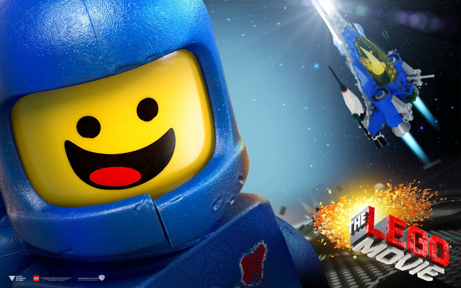 Benny - The Lego movie 1920x1200 | Wallpapers | Pinterest