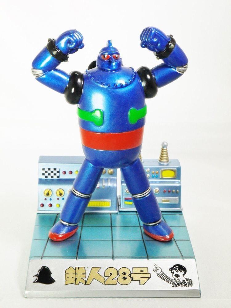 Figuax Featuring Mitsuteru Yokoyama Gigantor Tetsujin 28 Go Stand 1pc Retro Comic Art Toy Sci Fi Tv Shows