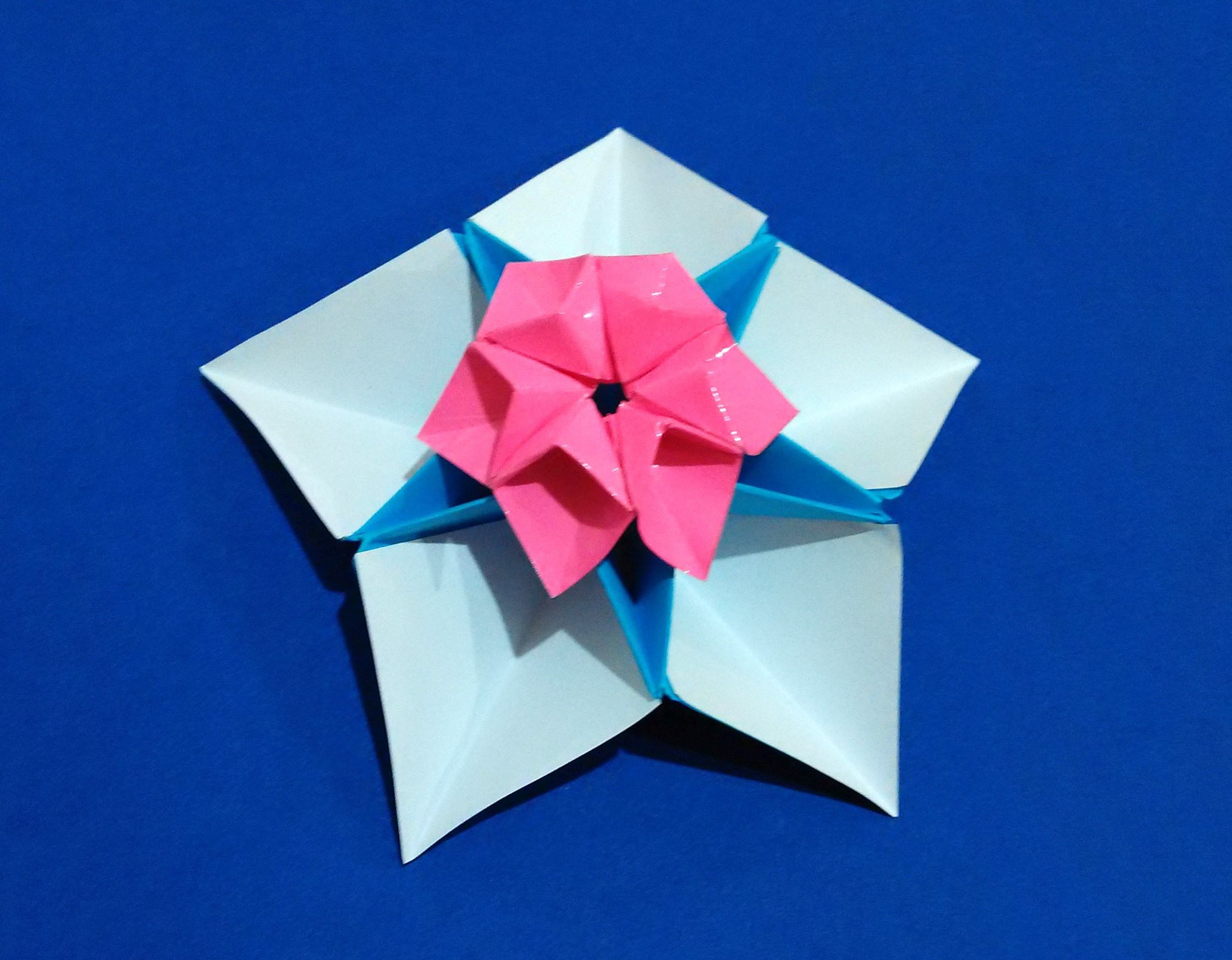 Easy Origami Star Flower For Decor And Fashion Jewelry Ideas For
