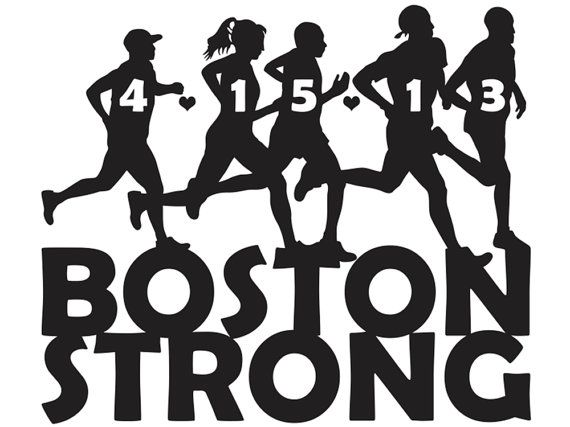 Boston Strong Vinyl Decal BOSML Via Etsy - Custom vinyl decals boston