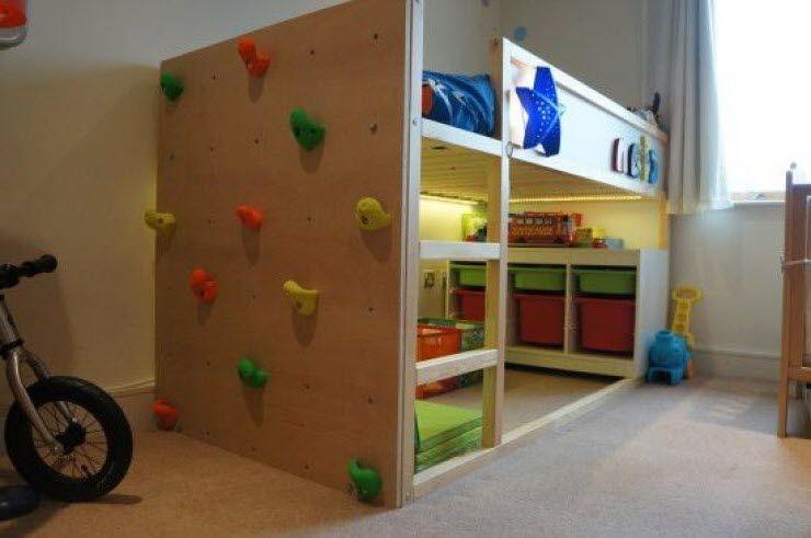 lit kura ikea aire de jeu to make pinterest bed bunk beds and room. Black Bedroom Furniture Sets. Home Design Ideas