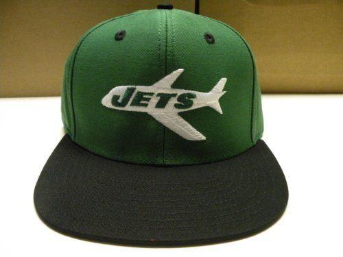 5c164207089 NFL New York Jets 2 Tone Logo Snapback Cap Old School Retro by Reebok.   19.99