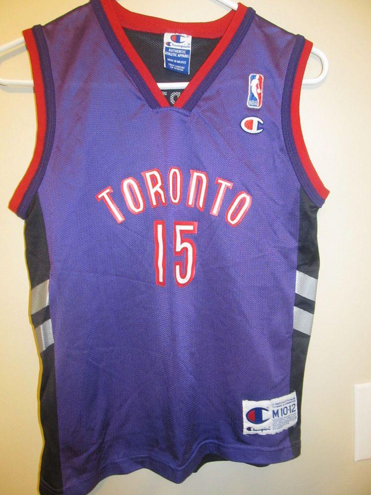 new concept 1a16b e8304 Vince Carter - Toronto Raptors jersey - Champion Youth ...