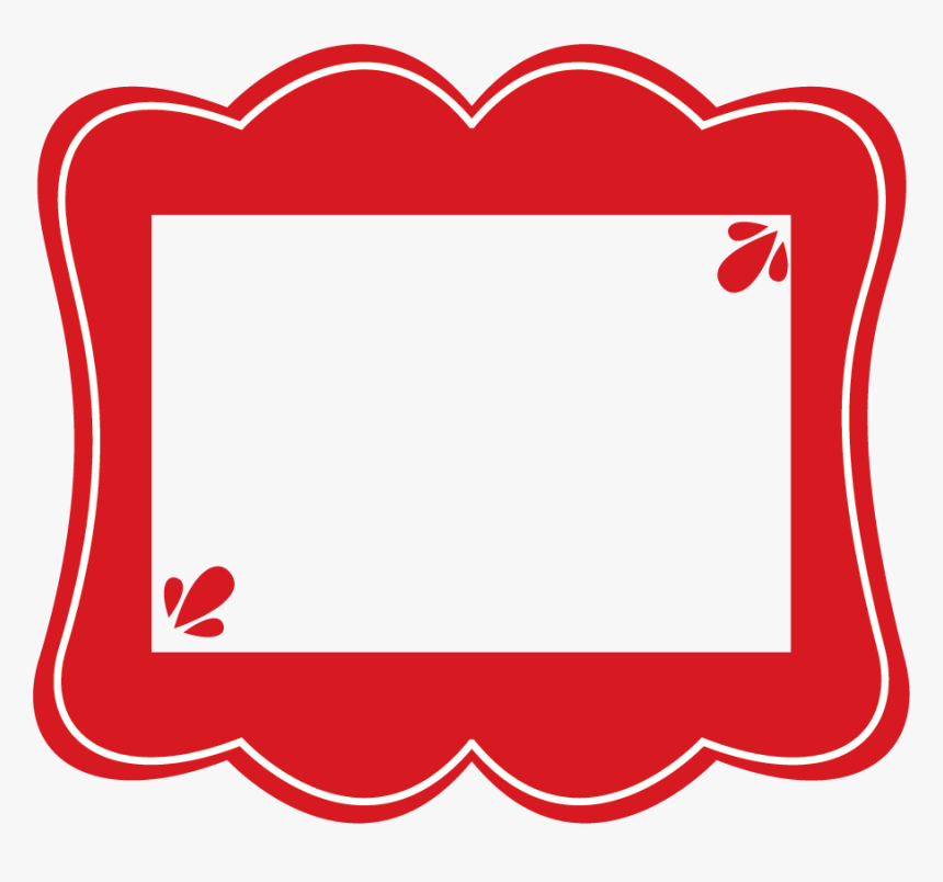 Clipart Frame Red Red Frame Clipart Hd Png Download Frame Clipart Red Frame Frame
