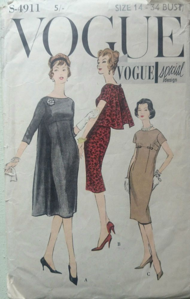 Pin von Gill Mollard auf Vintage Sewing Patterns For Sale | Pinterest