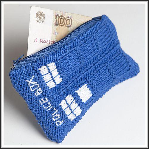 Ravelry Tardis Wallet Pattern By Vasilisa Solntseva Knitting Is