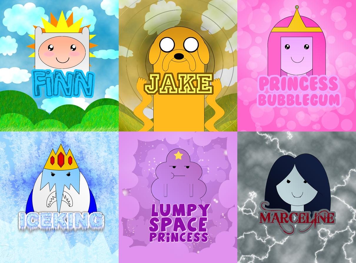 время приключений персонажи с именами и картинками поспешили