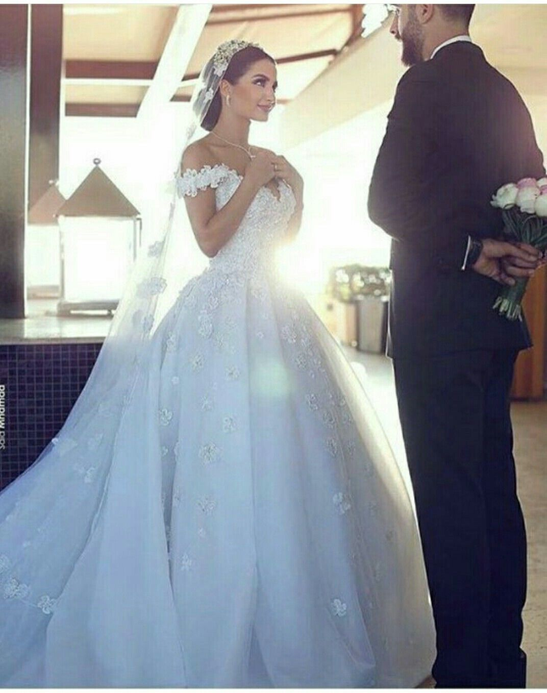 Amazing wedding dress weddinggoals white wedding pinterest