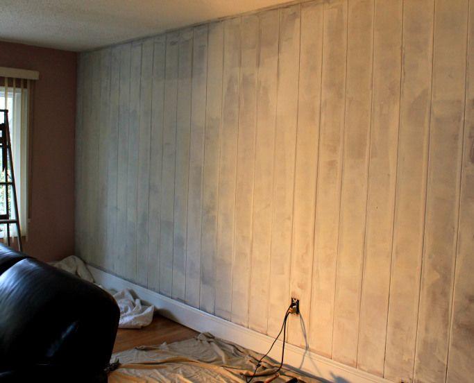 Ambush Makeover Wood Paneling Remodel Wall Paneling Makeover