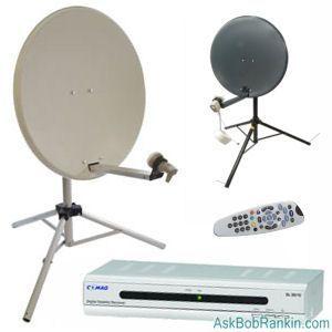 HOWTO: Get Free Satellite TV ... bobrankin | Bloggie Tips ...