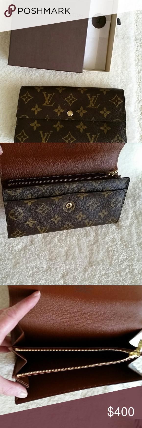 Louis Vuitton Vintage Sarah Wallet New Vintage Louis Vuitton Louis Vuitton Louis Vuitton Bag