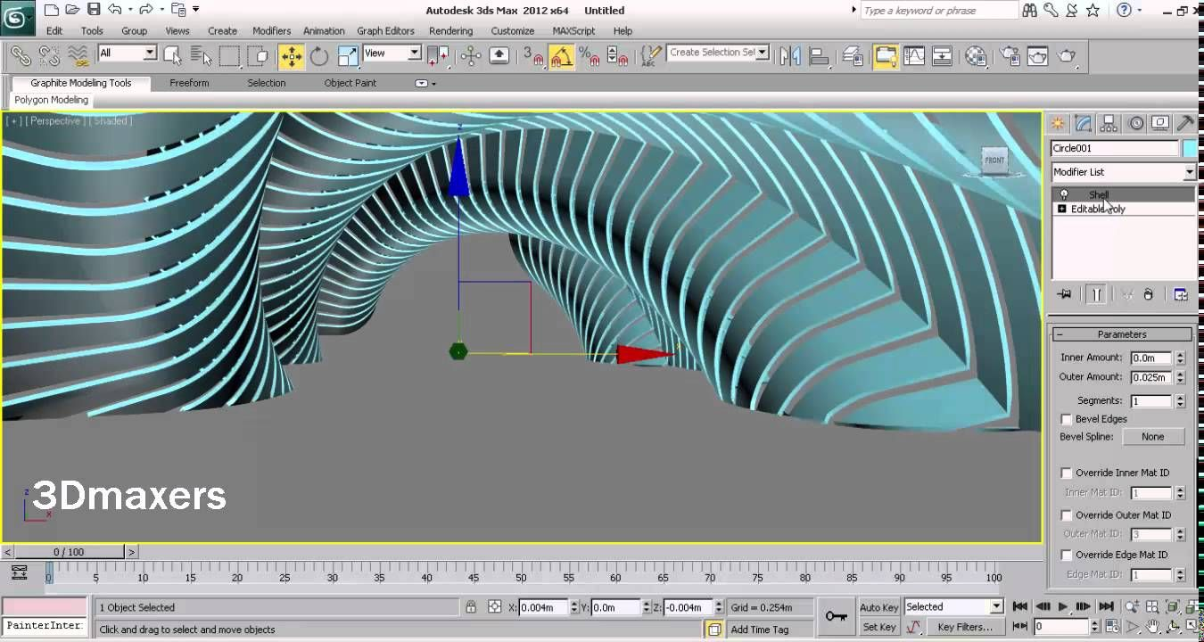 Parametric modeling with 3ds max 3dsmax tutorials for 3ds max design