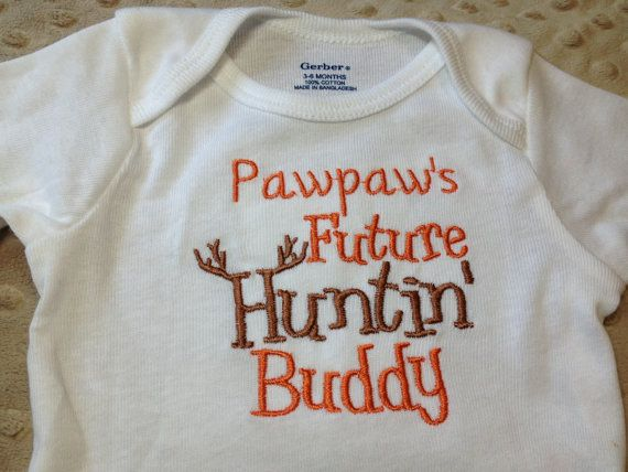 Grandpa Baby Outfit Grandpa Baby Bodysuit Grandpa Baby: Embroidered Onesie, Customized Papaw's, Nana's, Grandpa's