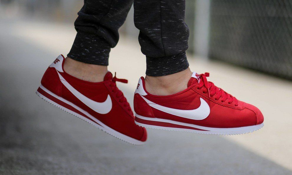 "new product 36610 3d83e Nike Classic Cortez Nylon ""Red"""