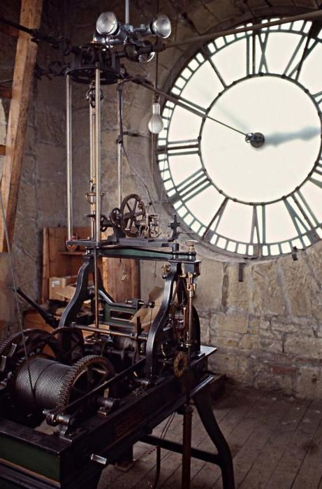 Old City Hall Clock Tower Mechanism