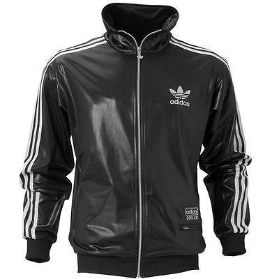 146fcf2b6bde9 New mens adidas originals chile 62 track top medium (m) black jacket ...