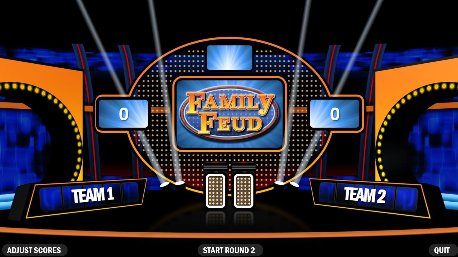 Make Your Own Family Feud Game With These Free Templates Family Feud Game Family Feud Template Family Feud