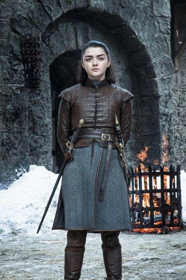 Game Of Thrones Season 7 Arya Stark Game Of Thrones