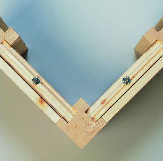 Aufbau Sauna Wand aus Massivholz Saunahaus, Gartensauna
