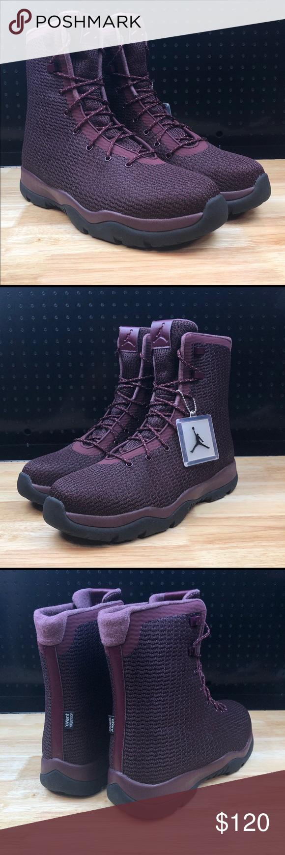 901bb24539dc49 Nike Air Jordan Future Boots Night Maroon Burgundy Nike Air Jordan Future  Boots Night Maroon Red