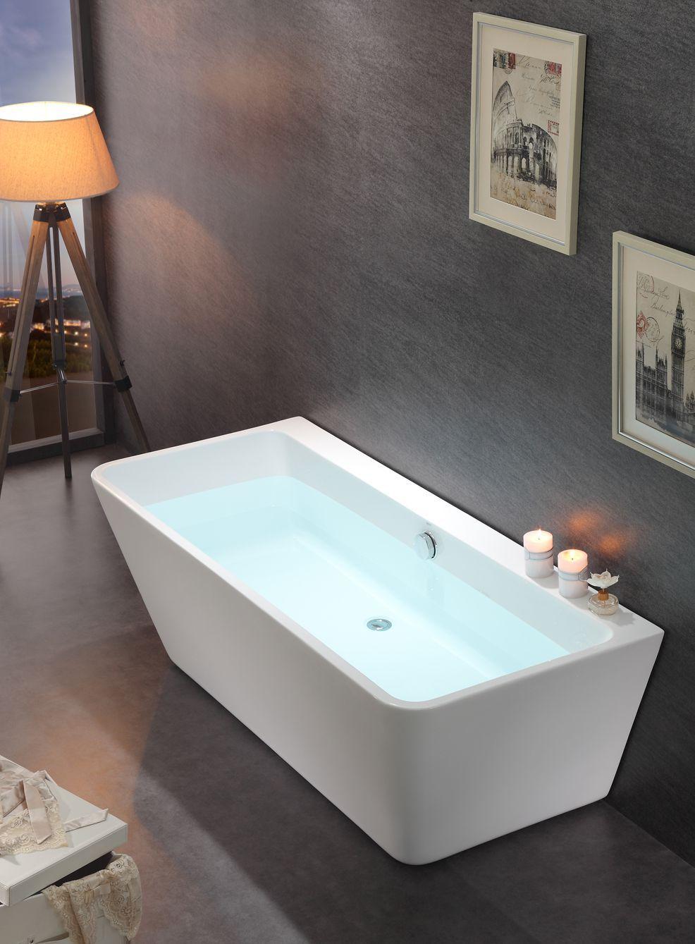 Alpha Camden BTW Freestanding Bath This Stunning Back To Wall - Freestanding tub against wall