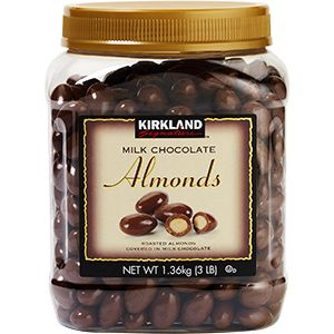 Kirkland Signature Milk Chocolate Almonds 48 Oz Chocolate