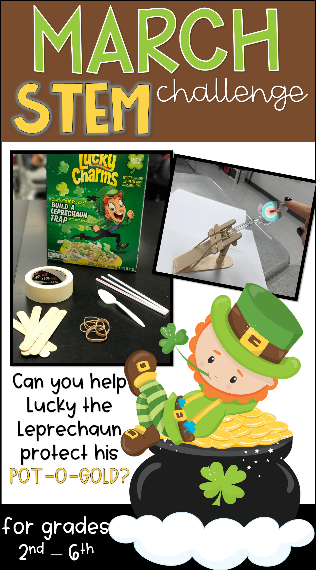 St Patrick S Day Stem Activity With Images