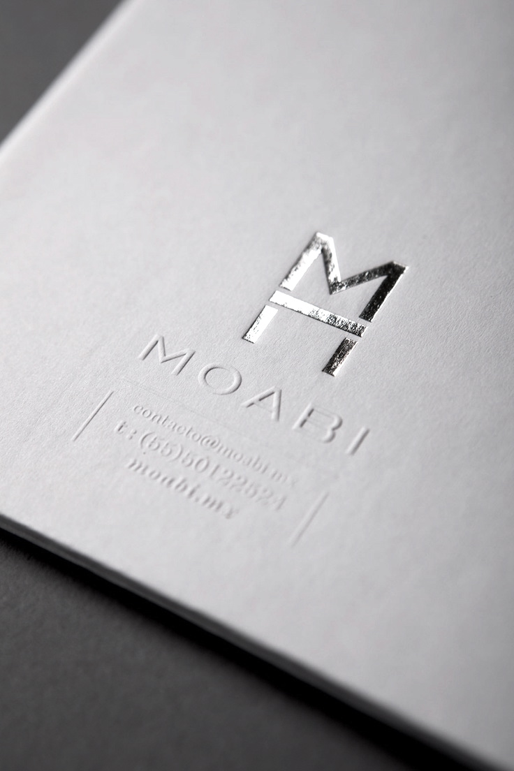 20 Creative Silver Business Cards Designs For Inspiration ...