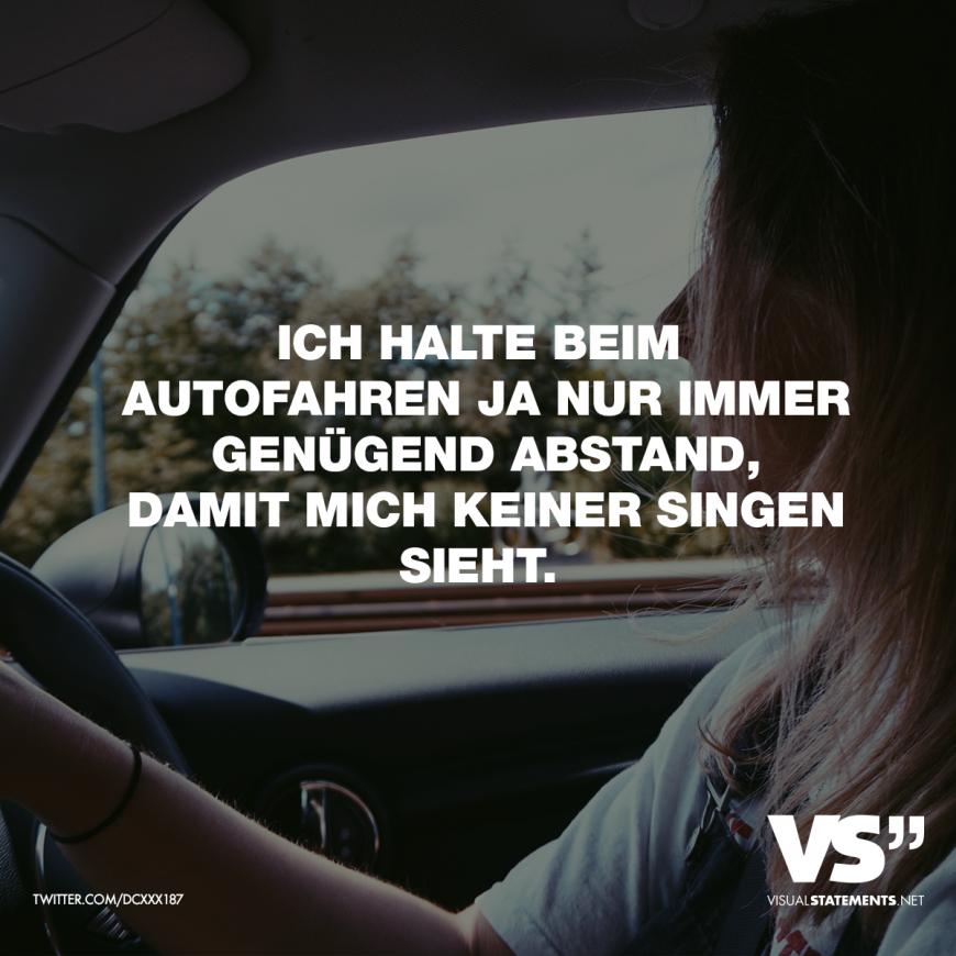 Sprüche Autofahren
