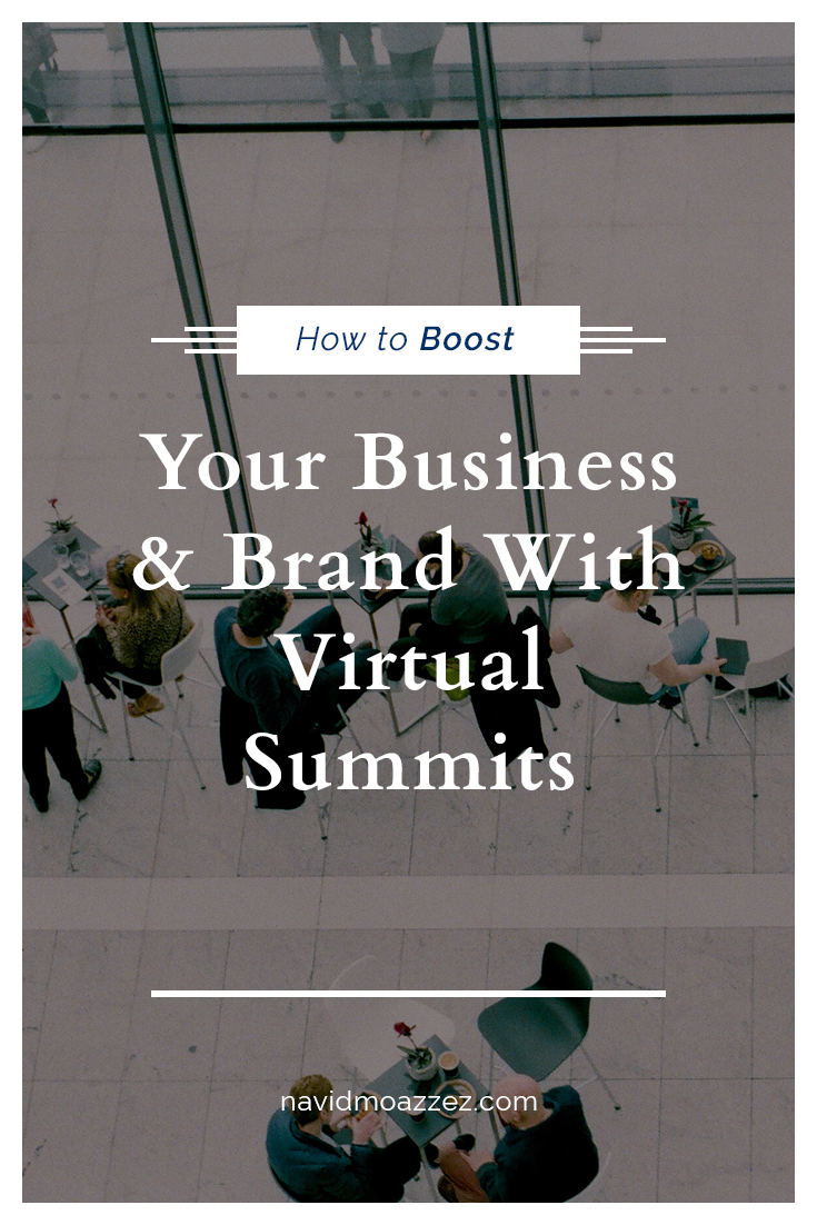 Virtual Summits Made Simple How To Host An Online Summit Business Personal Branding Internet Marketing