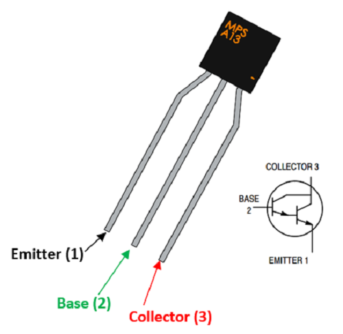 mpsa13 transistor pinout in 2019