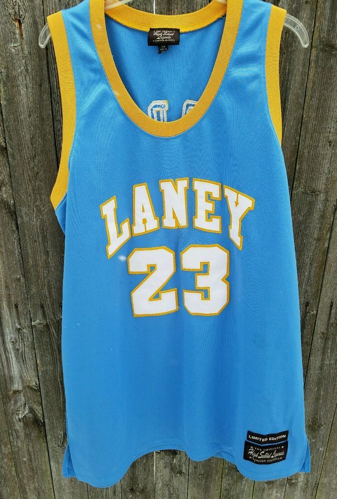 best cheap 362d9 54e0b Details about Michael Jordan Laney Bucs High School Rare ...
