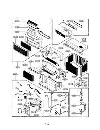 lg window air conditioner lw5016 repair directions