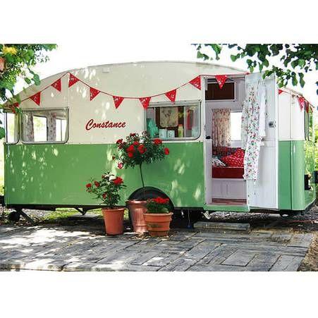 Amenager Son Jardin Facon Glamping Avec Images Caravane