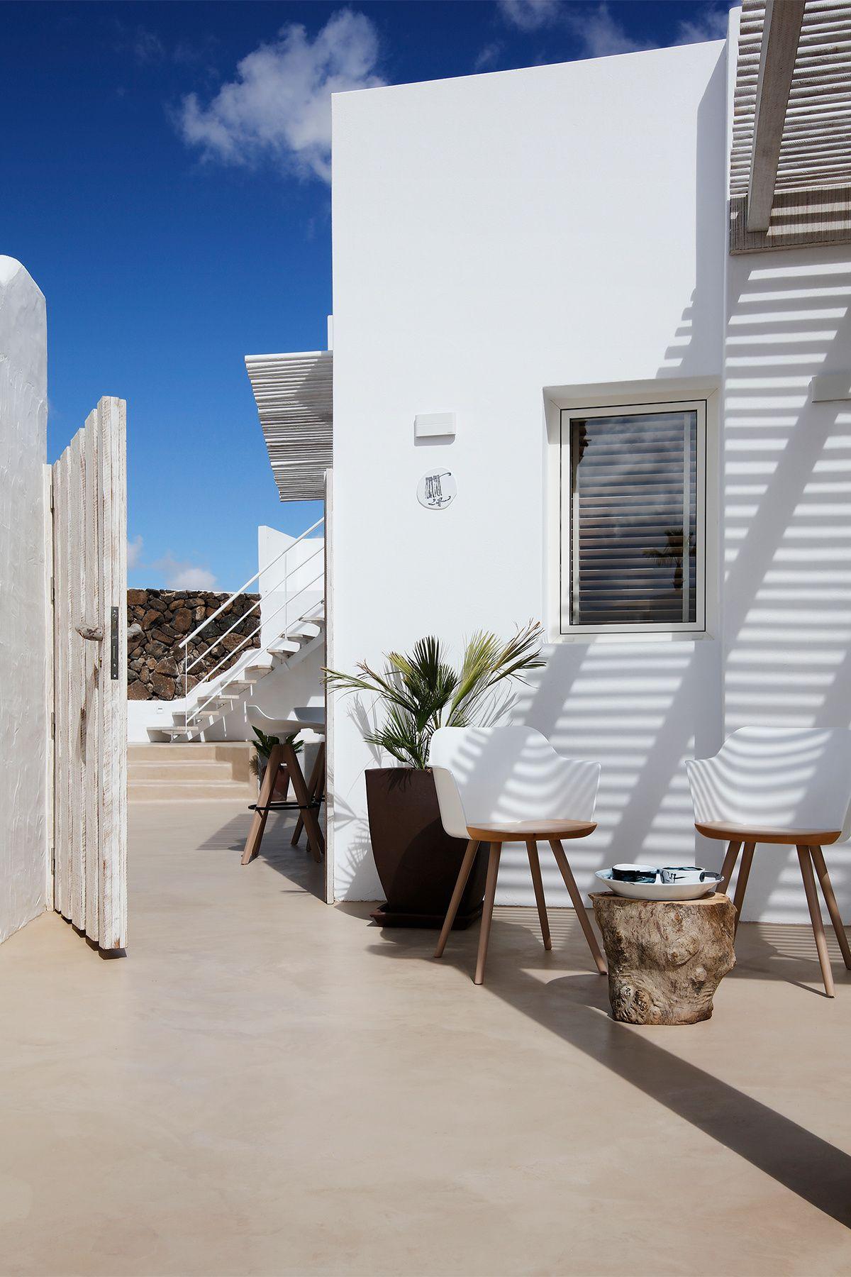 Entrada a la vivienda Casas, Decoracion de exteriores