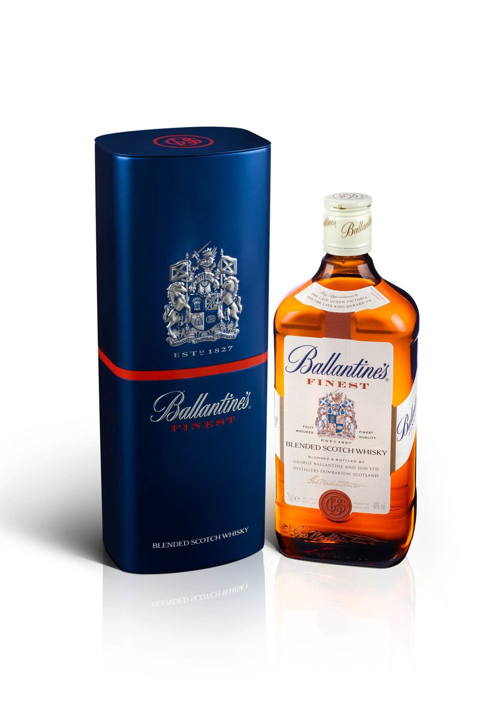 Ballantine S Finest Whisky Tin With Images Whisky Whisky
