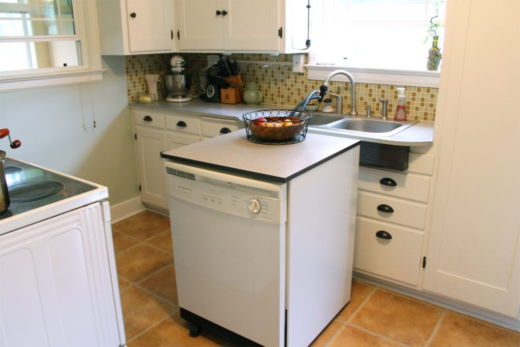 Portable Dishwashers For Small Kitchens Kitchen Island With Sink Open Concept Kitchen Small Kitchen