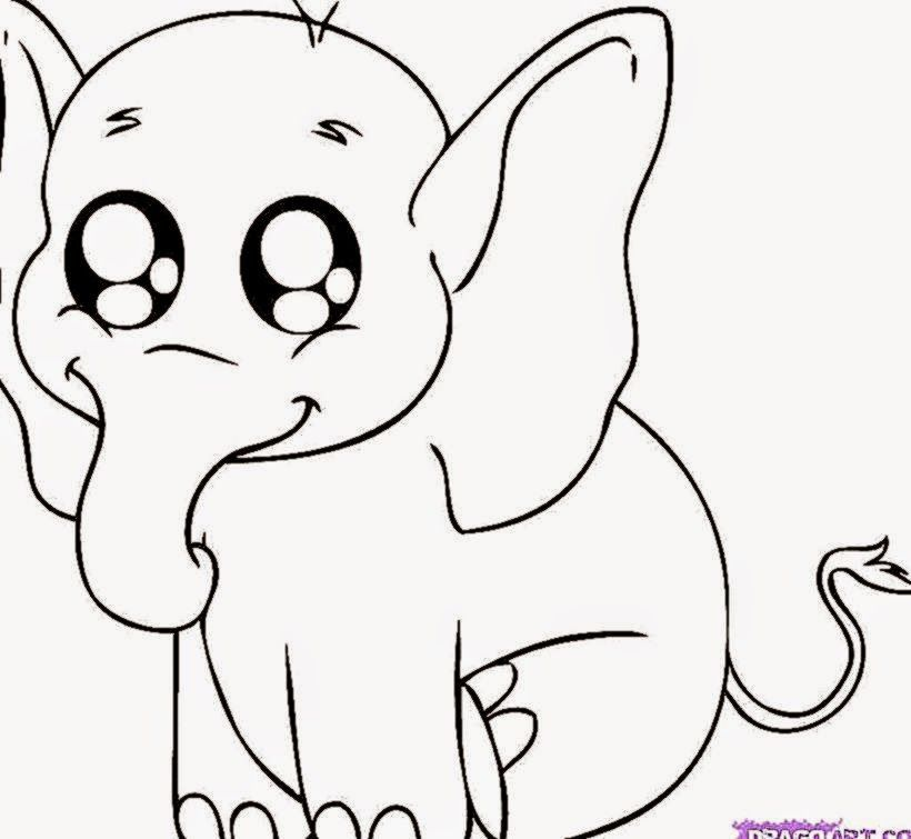 Cute Cartoons Animals To Draw | Wallpapers Background | Art ...