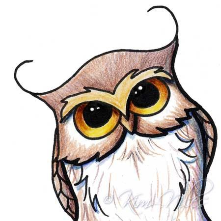 how to draw cartoon owls google search drawing