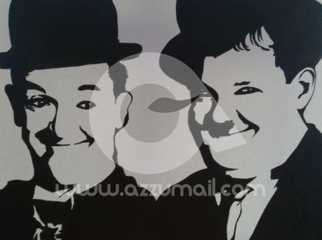 3-quadri-attori-famosi-amici-popart-pop-art-compro-vendo-cerco ...